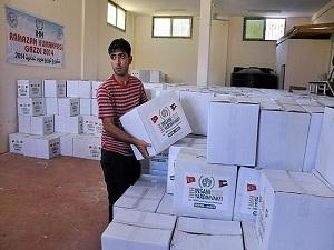 Yardım kuruluşları ramazanda da ihtiyaç sahiplerine ulaşıyor