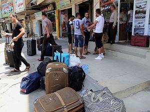 Şiddetten kaçan Iraklılar Türkiye'ye geliyor