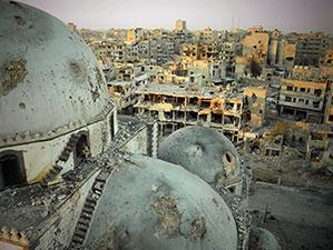 Halep ezana hasret kaldı