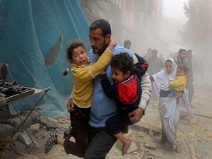 Suriye rejiminin hazirandaki saldırılarının acı bilançosu