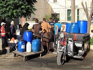 Halep'te su kesintilerine alternatif çözüm