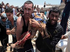 "İsrail Gazze'de sivilleri ""kasten"" hedef alıyor"