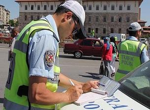 Trafik cezalarında rekor artış