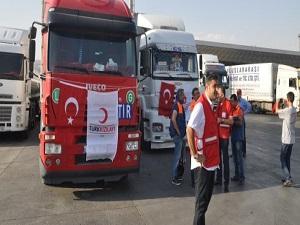 Kızılay'dan Gazze'ye yardım eli