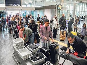 Havalimanlarının trafik hacmi önemli oranda arttı