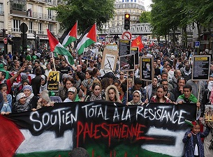 İsrail'in katliamına karşı dünya ayakta
