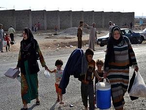 Irak'ta Şii bölgelerine kaçış sürüyor