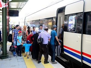 Ankara-İstanbul YHT 5 bin yolcu taşıdı