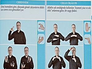 Diyanet'ten İşaret Dili Dini Kavramlar Sözlüğü