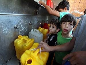Gazze'de şimdi de salgın hastalık riski başladı