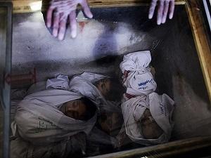 Ey katil İsrail bu çocukların suçu neydi?