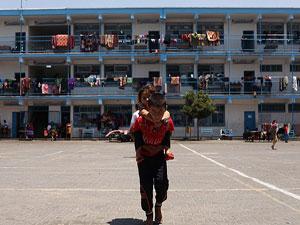 Gazze'de 400 bin çocuk travma yaşıyor