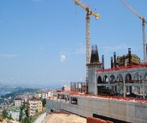 Çamlıca Camii 1 yılda böyle yükseldi