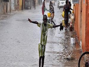 Senegallilerin yağmur duası tuttu