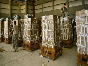 ABD Irak'ta 3. kez yardım dağıttı