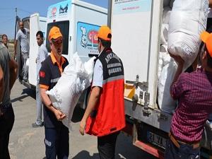 Şanlıurfa'ya sığınan Yezidilere yardım