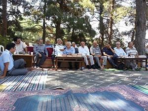 Nur Talebeleri Muhabbet Pilavı'nda buluşuyor