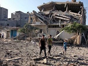 Gazze'de hayatını kaybedenlerin sayısı 2028'e yükseldi