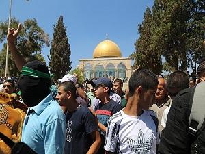 Gazze'den Mescid-i Aksa'ya ziyaret