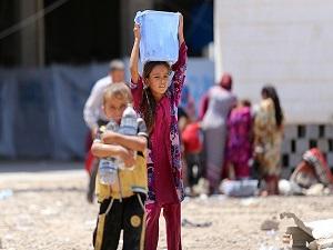 Irak'taki insani yardım çalışmaları devam ediyor