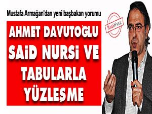Ahmet Davutoğlu, Said Nursi ve tabularla yüzleşme