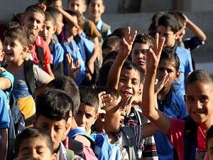 Batı Şeria'da ilk dersin konusu İsrail saldırıları