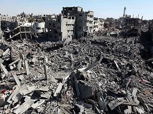 İsrail inşaat malzemelerinin girişine izin vermedi