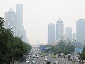 Pekin'de yaz da olsa hava kirli