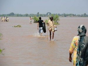 Pakistan'da şiddetli yağışlar 257 ölü