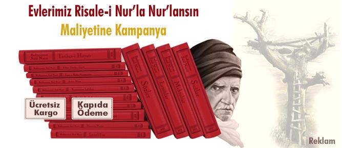 Risale-i Nur Külliyatı için maliyetine kampanya