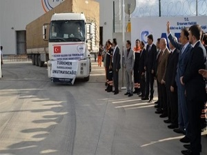 Erzurum'dan Irak Türkmenlerine yardım