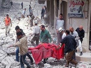 ABD Suriye'de 5'i çocuk 24 sivili katletti!