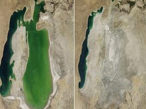 Dünyanın 4. büyük gölünde bir ilk!
