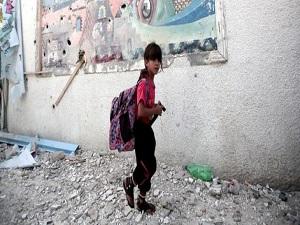 Filistin'de bir milyon 200 bin öğrenci dersbaşı yaptı