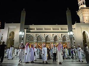 Hacılar 'Peygamber'in şehri' Medine'de