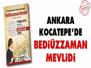 Ankara Kocatepe'de Bediüzzaman Mevlidi