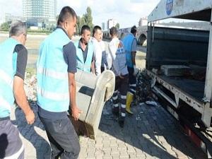 Seyhan Nehri'nde genel temizlik