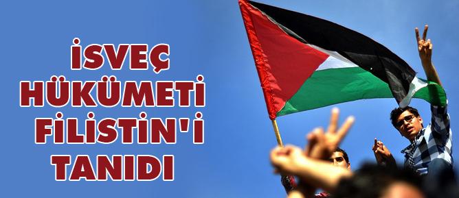 İsveç hükümeti Filistini tanıdı
