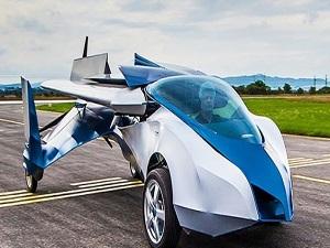 Uçan otomobil ilk uçuşunu gerçekleştirdi