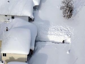 38 yılın en çetin kışı!