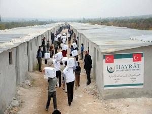 250 haneli Hayrat Köyü