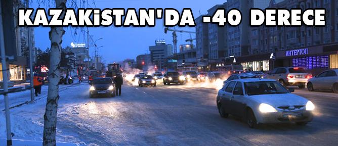 Kazakistanda hayat -40 derece