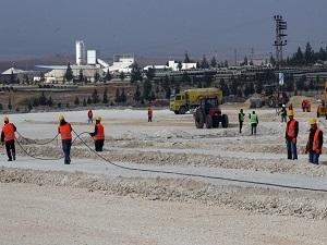 Suriyeli Kürtler tam donanımlı kampa kavuşuyor