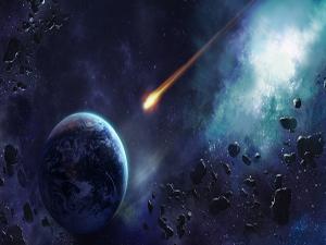 Dağ gibi meteorun yörüngesi Dünyayla kesişiyor