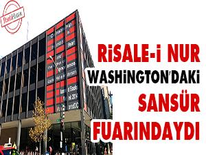 Risale-i Nur Washingtondaki sansür fuarındaydı