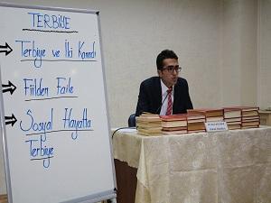 DKM'de terbiye semineri
