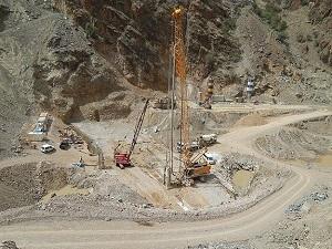 Türkiye'nin en yüksek barajı hızla yükseliyor