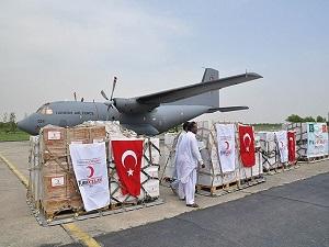 Irak'a insani yardımlar 72 milyon 449 bin liraya ulaştı