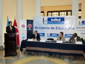 TİKA'dan Guatemala Eğitim Bakanlığı'na Ekipman Desteği