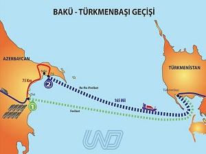 Hazar Denizi nakliye sektörüne can suyu olacak